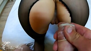 Hotwife Wifey STRANGER TAKES CONDOM OFF AND GETS ACCIDENTAL Internal ejaculation