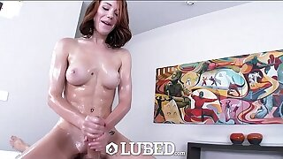 Well-lubed - Racy pussy, muddied jaws and shining footwear with Raylin Ann
