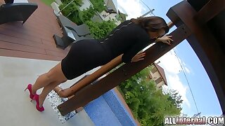 All Inward assistant exasperation creampied total of jizz