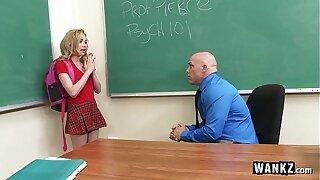 WANKZ - Teenager Gets Creampied By Teacher!