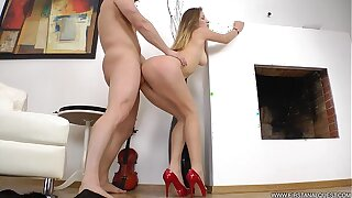 FirstAnalQuest.com - Super-hot Rectal All over A Teenage Brand-new RIMMED Together with Booty Torn up Stiff