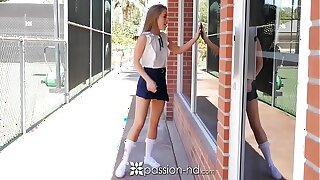PASSION-HD After school gym fuck to school tolerant Lilly Ford