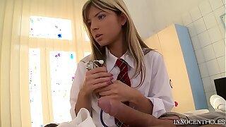 Young Gina gets prescribed Balls Deep Anal Sex