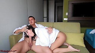 Babe Came Out of the Shower and Torn up Rear end Fashion Get Creampie - Homemade