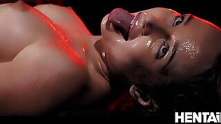 Extraordinary Cumflation - Hot Russian Blondie got Boned by Aliens and Explode with Cum - Kaisa Nord