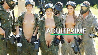 3x Lovelies have Group Hook-up at AdultPrime