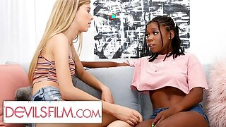 Haley Reed is Comforted By Her Sexy Lesbian Best Friend